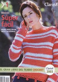 журнал по вязанию ClarinX crochet № 1, 2003