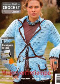 журнал по вязанию ClarinX crochet № 1-2,2005