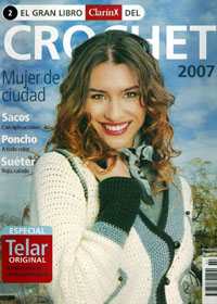 журнал по вязанию ClarinX crochet № 2, 2007