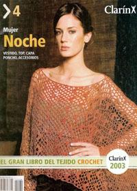 журнал по вязанию ClarinX crochet № 4, 2003