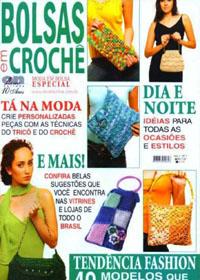 журнал по вязанию Bolsas em Croche № 2 2007 г.  (журнал по вязанию крючком сумочек)