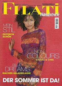 журнал по вязанию Filati Handstrick 40, 2010  (немецкий журнал по вязанию спицами и крючком - летняя мода)