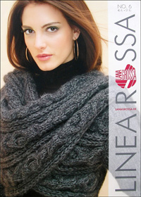 журнал по вязанию Linea Rossa № 6, 2010 (немецкий журнал по вязанию спицами)