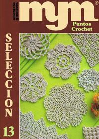 журнал по вязанию Muestras y motivos. Seleccion 13 (образцы вязания крючком)