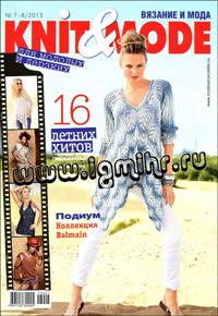 журнал по вязанию Knit & Mode № 7-8,2013