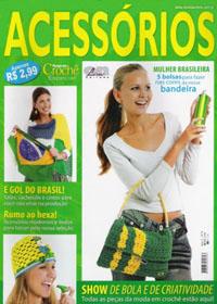 журнал по вязанию Roupa em croche. Acessorios  № 8,2006