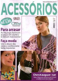 журнал по вязанию Roupa em croche. Acessorios  № 9,2006