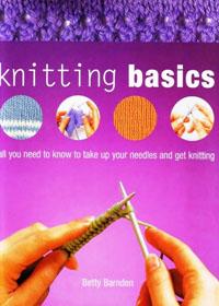 Книга по вязанию на спицах. Betty Barnden. Knitting Basics.(Основы вязания).